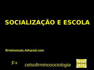 socialização e escola.pptx