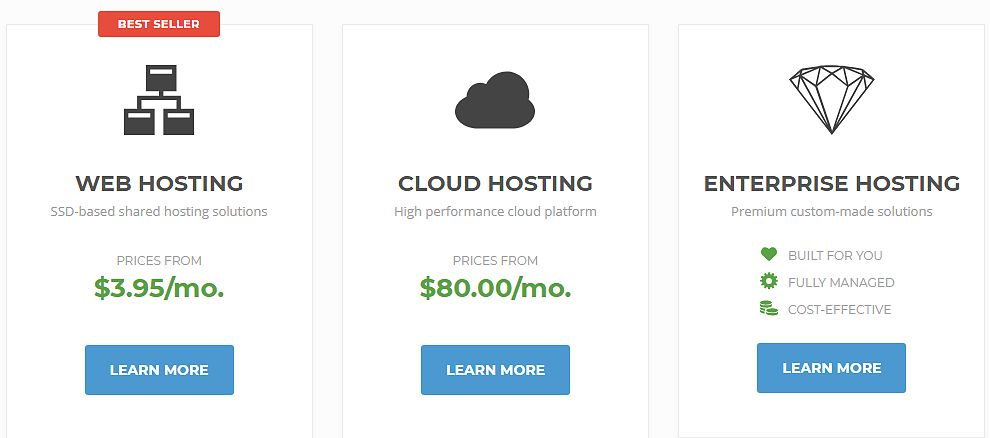 Different_hosting_platforms