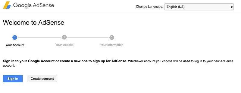 Create-AdSense-Gmail-account