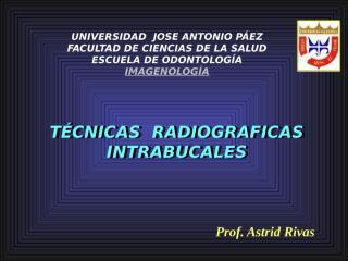 tecnicas interproximal,oclusal e infantil 2009.ppt