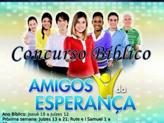 Concurso Bíblico 2011 - 11.ppt
