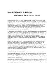 Mensagem à Garcia - Helbert Hubbard .pdf