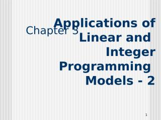 CH03 - ILP Applications-2.ppt