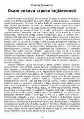 Predrag Palavestra - Osam vekova srpske književnosti.doc