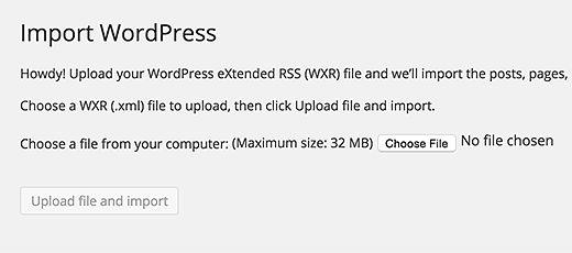 import-wordpress