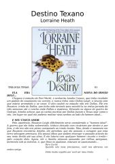(Trilogia Texas 01) - Lorraine Heath - Destino Texano.doc