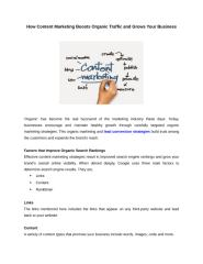How Content Marketing Boosts Organic Traffic and Grows Your Business.docx