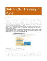 SAP FIORI Training in Pune (1).ppt